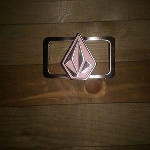 Volcom Metal Belt Buckle